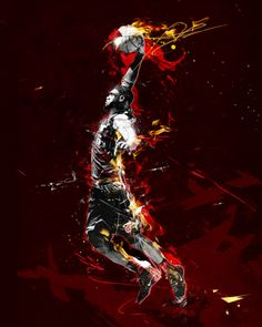 NBA art | KINGJAMES #NBA #Art #Miami