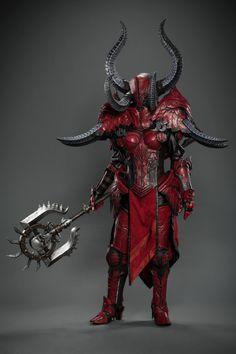 Crusader Armor (Diablo III) by Spiffzaya #cosplay #blizzcon2015