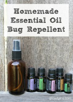 Summer is in full swing! The extra hours of sunlight make social gatherings that much more fun, but unfortunately some uninvited guests like to join the party, too: those pesky bugs. Most commercial bug repellents contain DEET, and it's best to avoid that. What can you do instead? Make your own