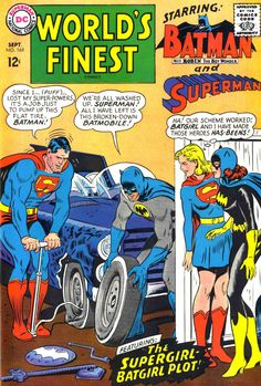 "twentypercentcooler: "" If this isn't the plot of the upcoming Superman/Batman movie, we riot. """