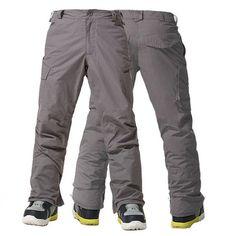 Gsou Snow Winter Ski Pants Men Waterproof 10K Professional Snowboard Pants For Men Outdoor Mountain Climbing Warmth Snow Pants