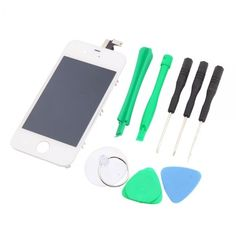 amazones gadgets J, Screen Digitizer Replacement Assembly iPhone 4 CDMA Version Tools Sets White: Bid: 25,09€ Buynow Price 25,09€ Remaining…