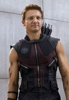 Jeremy Renner As Hawkeye | Source and owner of picture = www.flicksandbits.com