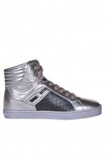 Hogan Rebel - Scarpe sneakers 'Basket' in pelle :: Glamest Luxury Outlet Online Donna