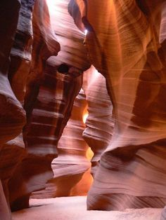 Antelope canyon #color #travel #shape