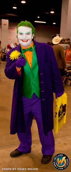 The Joker looks like he is up to no good!, check out Wizard World Ohio Comic Con Sep 20-22, 2013!! Click http://www.wizardworld.com/home-ohio.html