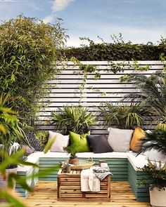Looking for small garden decking ideas to transform your space? These cleverly designed gardens show you how to incorporate it into even the tiniest of gardens Small Garden Decking Ideas, Small Garden Fence, Back Garden Design, Sloped Garden, Small Space Gardening, Small Gardens, Outdoor Gardens, Very Small Garden Ideas, Diy Garden Seating