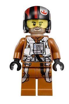 LEGO Star Wars: The Force Awakens Poe Dameron X-Wing Pilot Minifigure