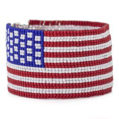 Star Spangled Bracelet | Fusion Beads Inspiration Gallery