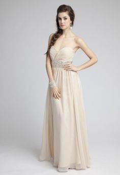 Prom Dresses 2013 - Ombre Beaded Long Grecian Prom Dress from Camille La Vie and Group USA