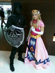 Zelda and Dark Link ACEN 2010 by *akuriko