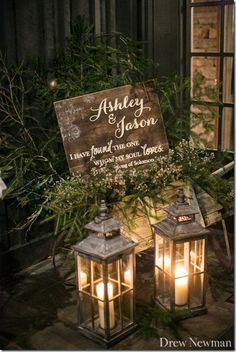 old edwards inn wedding pictures | Ashley asked us to design this sign to match her invitations and ...