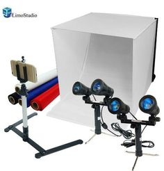 Table Top Photo Light Tent Kit for Cell Phones