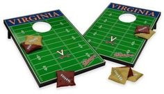 NCAA University of Virginia Tailgate Toss Cornhole Set