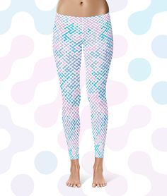 New to YKbrand on Etsy: YK DOTS (yoga leggings workout leggings gym leggings super leggings pattern print) (46.00 USD)
