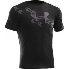 Under Armour Mens UA Deer Tracks T-Shirt - Black - Mills Fleet Farm
