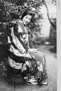 入江たか子 About 1920's, Japan.