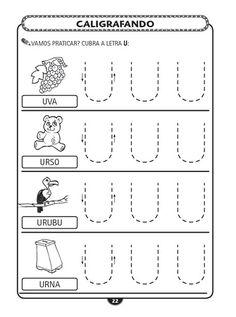 Educando com Arte 10: Alfabeto Bastão Pontilhado