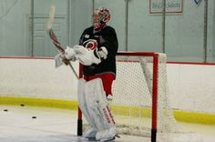 Goaltender Cam Ward is putting in the work to get back to where he was
