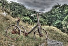 Trike, abandoned on a random hillside in the Yorkshire Dales.