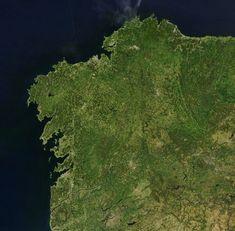 Internet vía satélite contra las 'zonas blancas' en Galicia