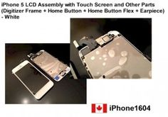 This item is completely OEM LCD Touch Screen Glass Digitizer & LCD Display Assembly for Iphone 5    Price = $385.50