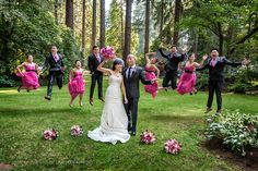 I don't like any pics of the wedding party jumping