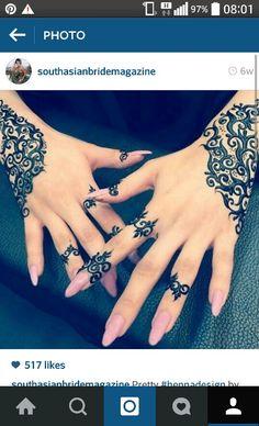 Stylish henna