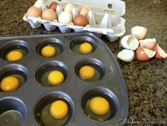 How To Freeze Eggs Freeze eggs?-- Does it sound crazy?-- It's crazy-simple and crazy useful! Freezing eggs is easy and a great way to preserve eggs too -- very versatile. Freezing Your Eggs, Freezing Fruit, Freezing Milk, Canning Recipes, Egg Recipes, Recipies, Drink Recipes, Canning 101, Freezer Cooking