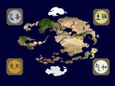Avatar The Last Airbender Map Fantasy Maps Pinterest Avatar