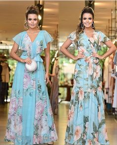 Image may contain: 2 people, people standing Frill Dress, Chiffon Maxi Dress, Dress Skirt, Simple Dresses, Casual Dresses, Fashion Dresses, Evening Dresses, Prom Dresses, Summer Dresses