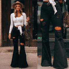 Rodeo Outfits, Chic Outfits, Winter Outfits, Fashion Outfits, Trendy Outfits, Flare Jeans Outfit, Jeans Outfit Winter, Country Style Outfits, Southern Outfits