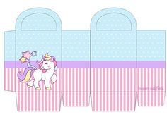 Unicornio: Cajas e Imprimibles para Fiestas de Cumpleaños, para Imprimir Gratis. Pink Birthday Cakes, Unicorn Birthday Parties, Baby Birthday, Birthday Party Themes, Unicorn Crafts, Unicorn Art, Fun Crafts, Diy And Crafts, Paper Crafts