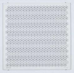 Manfred Mohr, P-150 (Hexagons) (1974)
