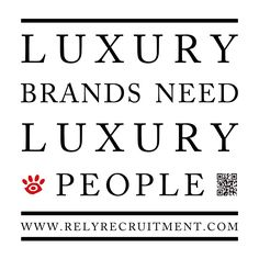 Looking for your next move in luxury retail? Come to us! We have many roles paying excellent salaries! To be updated please send your CV to dimitris@relyrecruitment.co.uk       #AlfredDunhill #bondstreet #bondstreet #BottegaVeneta #BrunelloCucinelli #Bulgari #Burberry #Canali #Cartier #Chanel #chinese #chinese #ChristianDior #Corneliani #DOLCE&GABBANA #ErmenegildoZegna #fashion #Fendi #fineJewellery #Gucci #harrods #Hermès #HUGOBOSS #JimmyChoo #Ladieswear #london #londonfashion #LoroPiana…