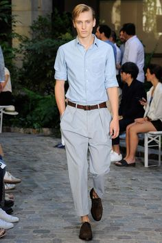 See the Officine Generale spring/summer 2016 menswear collection. Click through for full gallery