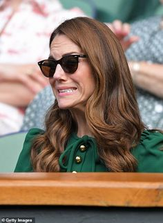 As a senior member of the British royal family (not to mention the future queen of England), the Duchess of Cambridge doesn't always have the option to speak Maisie Williams, Serena Williams, Pippa Middleton, Duke And Duchess, Duchess Of Cambridge, Meghan Markle, Duchesse Kate, Diana, Reaction Face