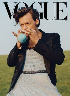 Harry Styles on Dressing Up, Making Music, and Living in the Moment   Vogue