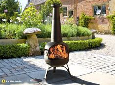 Get The Oxford Chiminea Now Log Burners Uk Large Patio Heater Cast