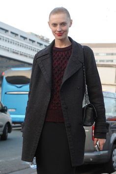 Olga Sherer <3 Models at Paris Fall 2012