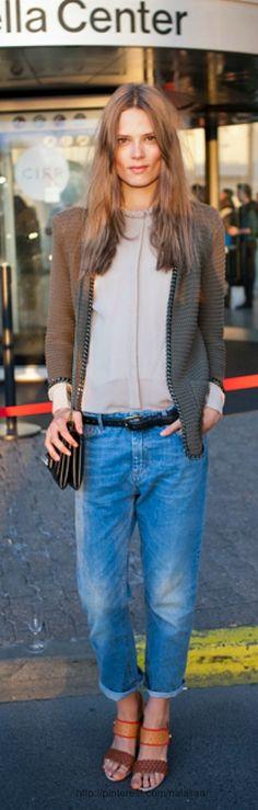 Street style - Caroline Brasch Nielsen