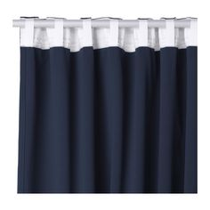 WERNA Blackout curtains, 1 pair IKEA The curtains are room darkening thanks to the densely-woven fabric.