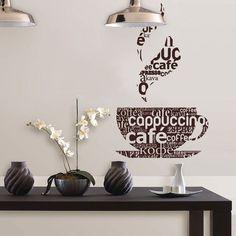 Adesivo de Parede Café