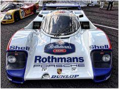 """1987 Works """"Rothmans"""" Porsche 962C Group C Car."""