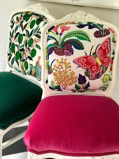 Dining Chairs - Furniture Buying And Caring For Your Home Furnishings Chair Upholstery, Upholstered Furniture, Upholstered Dining Chairs, Chair Fabric, Chair Pads, Chair Cushions, Reupholster Dining Chair, Rattan Chairs, Eclectic Dining Chairs
