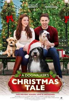"""Its a Wonderful Movie - Your Guide to Family Movies on TV: UP Christmas Movie """"A Dogwalker's Christmas Tale"""""""