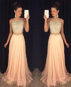 Vestidos de noche para jovenes elegantes largos 2017