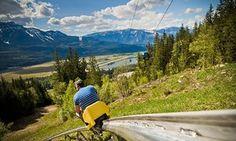 The Pipe Mountain Coaster, Revelstoke Resort, Canada
