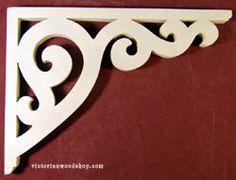 Artículo # B-95 Victorian Porche Soporte El Woodshop Victorian http://victorianwoodshop.com