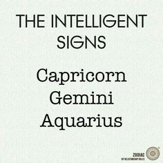 Are you intelligent? Tag your friends below⬇.... What's your zodiac sign... Comment⬇    Hashtags: #Zodiac #zodiac #Capricorn #Gemini #aquarius